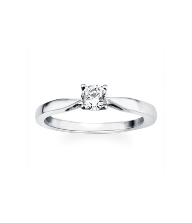 Solitaire or diamant 0.30 carat