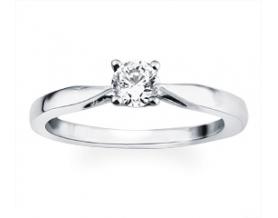 Solitaire or diamant 0.30 carat
