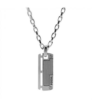 Collier Homme acier pendentif JF84466040