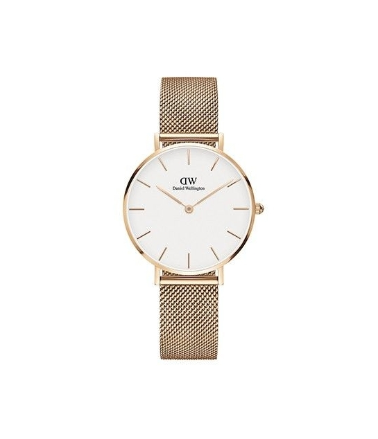 Montre Ronde Milanaise Or Rose Femme