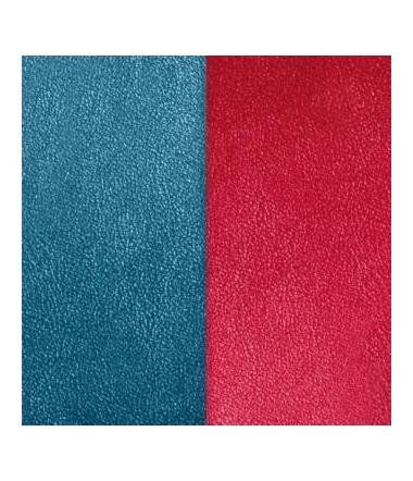Cuir Pendentif Bleu/Framboise 25 mm