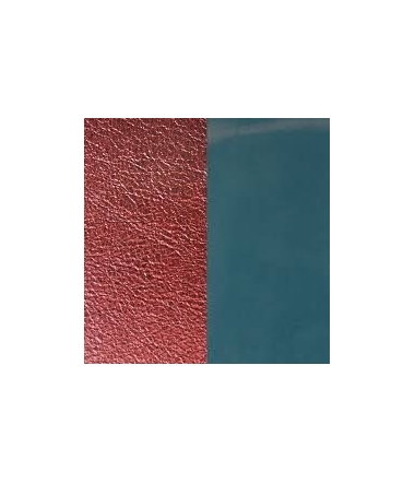 Vinyl Bague Bleu Jeans/Bordeaux 12 mm