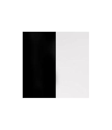 Vinyl Bague Noir/ Blanc 12 mm