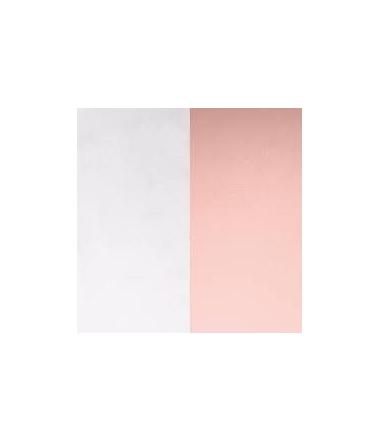 Cuir Pendentif Gris Clair/Rose Clair 45 mm