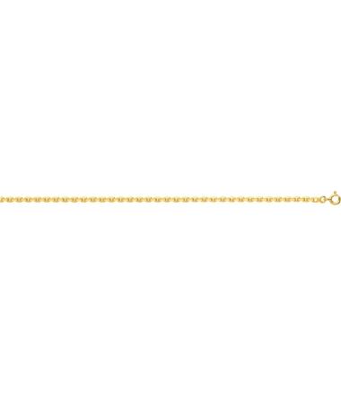 Collier forçat plaqué or