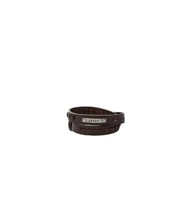Bracelet Acier et Cuir Homme JF87354040