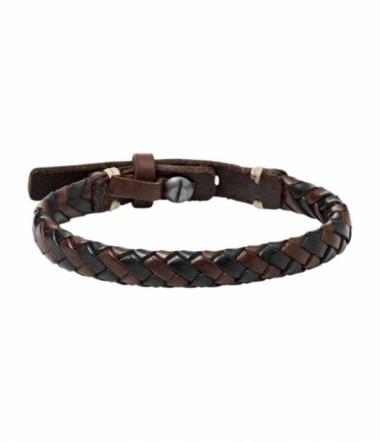 Bracelet cuir et acier JA5932716